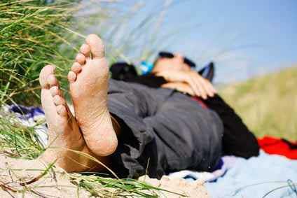 Fußpilz behandeln lassen